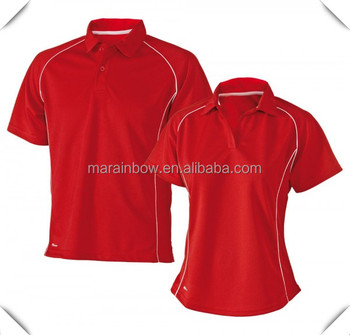 China Manufacturer Fashion Piping Hockey Polo Shirt Custom
