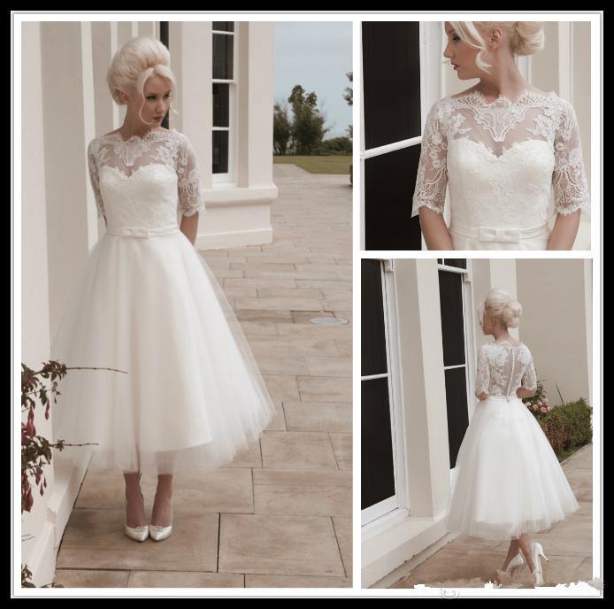 1950s Style Wedding Dress