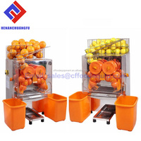 Automatic Electric Stainless Steel Commercial Orange Juicer