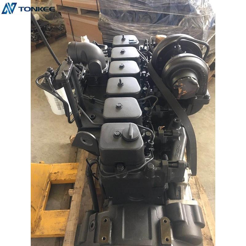 Original New 6BT5.9 Complete Engine 6D102 Engine assy for PC200-7 excavator