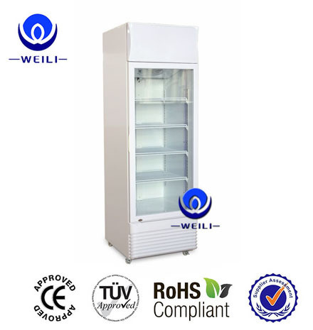 Supermarket glass door refrigerator freezer, Upright coke cooler refrigerator, Supermarket refrigerator price