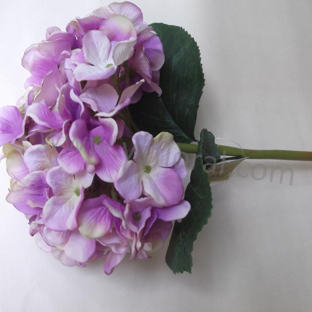 Buy cheap china silk purple flowers products find china silk purple artificial silk purple flower real touch hydrangea for wedding artificial flower basket mightylinksfo