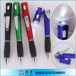 ballpoint pen knife pen with knife,knife shape pen,clip shape pen
