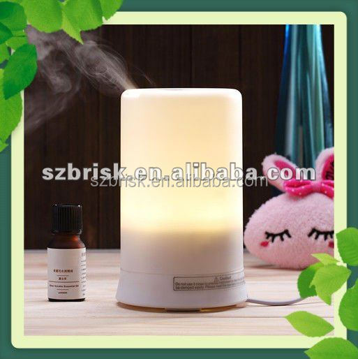 Beautiful LED Lamp Ultrasonic Vaporizer Humidifier For Home