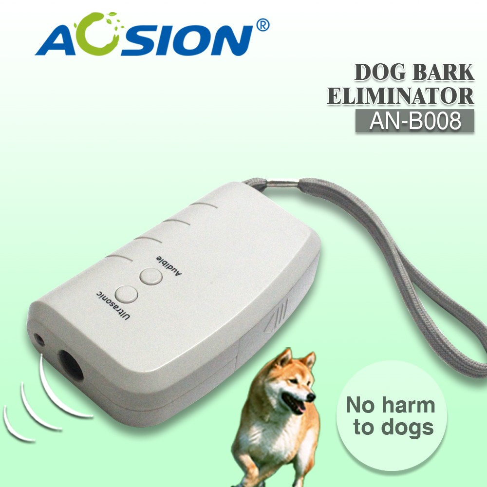 Portable ultrasonic dog repeller anti Bark Dog Collar pest stop dog training eliminator