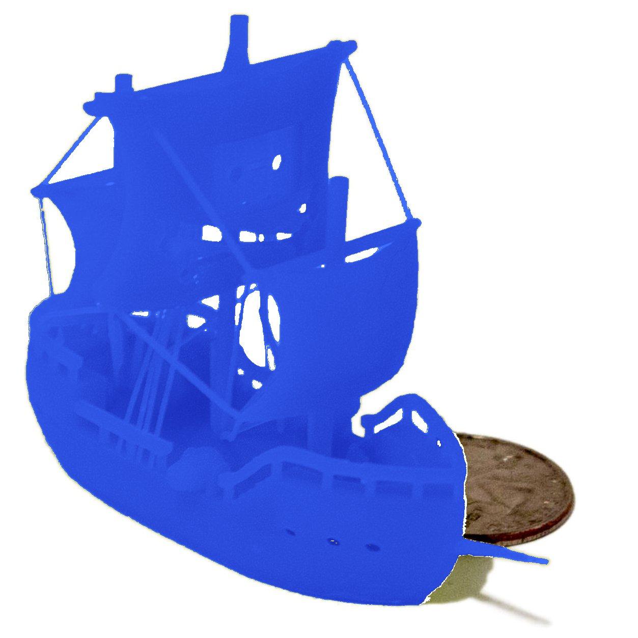MakerJuice Blue G+ UV 3D Plastic Printing Resin for SLA and DLP Printers (one 500 mL bottle).