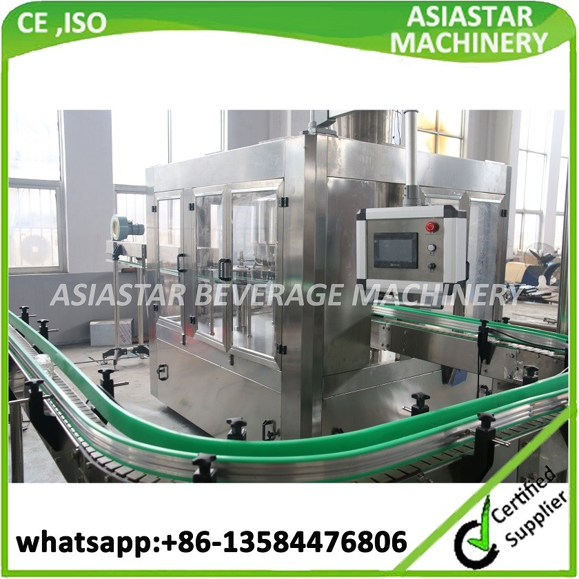 2017 Newest hot selling 8000BPH-10000BPH plastic bottle rinsing filling capping machine CE ISO