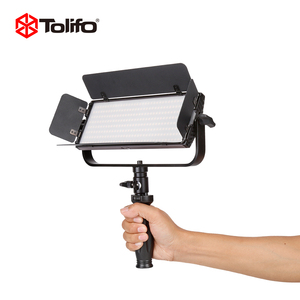 Dongguan Tolifo 30W Barndoor Hot Shoe Professional LED Camcorder Photography Light Video Studio Photo Light for DSLR