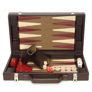 luxury chess sets travel handmade wooden printing backgammon game
