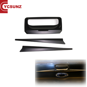 YCSUNZ Wildtrak Tailgate door handle cover black ABS for RANGER px2 XLT 2017
