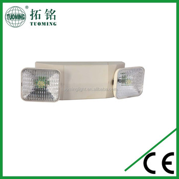 Abs Wall Mounted Reachargeable Led Fire Emergency Lighting