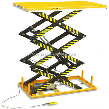 Hydraulic Cylinder Mechanism Scissor Platform Cargo Floor Lift With Diy  Service - Buy Scissor Lift Cargo,Scissor Mechanism Platform Lift,Scissor  Lift