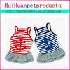 Dog stripe clothes Japanese pet clothes for dog