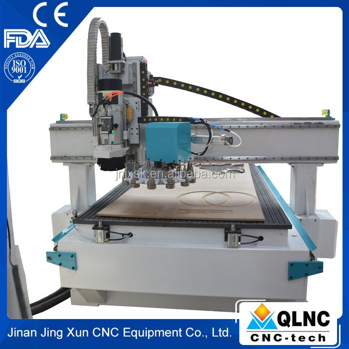 Wholesale High Quality Tool Magazine 3 Axis Woodworking Machine Atc Cnc Router QL-1325 ATC