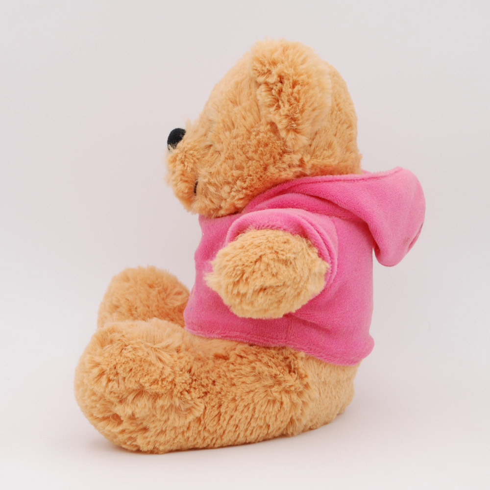 Lovely Valentine Animal Plush Teddy Bear Colorful PP Cotton Clothing Bear Toy Gifts