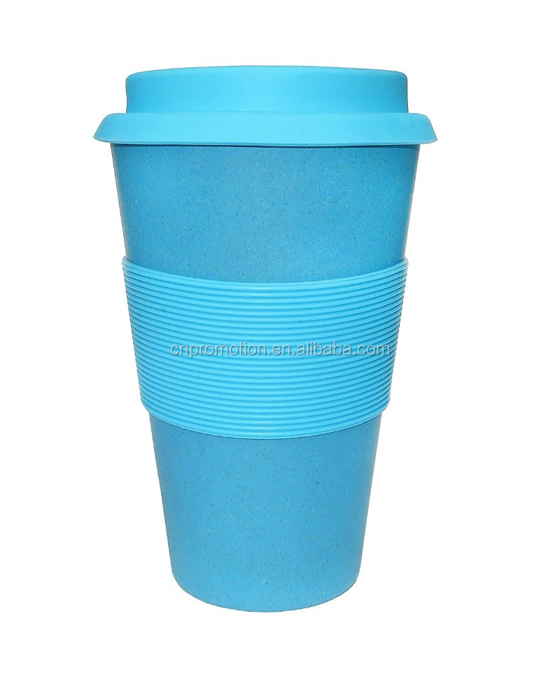 Healthy bamboo fiber material coffee mug good for tea cup drinking cups