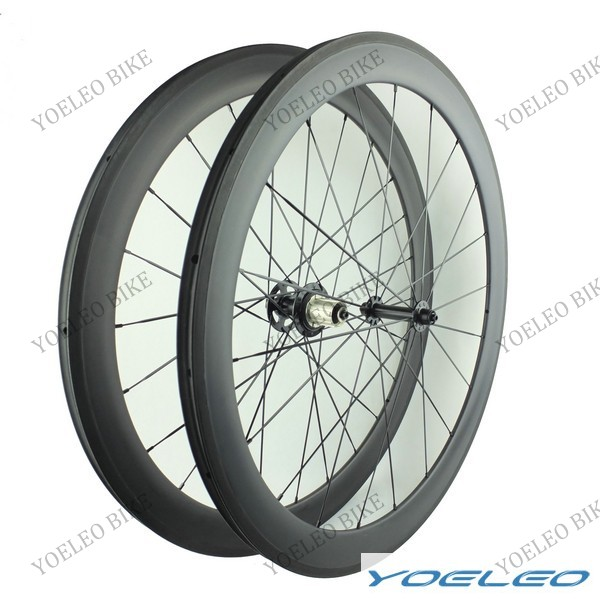 U Shape YOELEO Wider Clincher 50mm Cyclocross Cycling Wheels Carbon