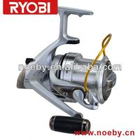 Aluminum spool spinning fishing reel fly fishing rods and reel