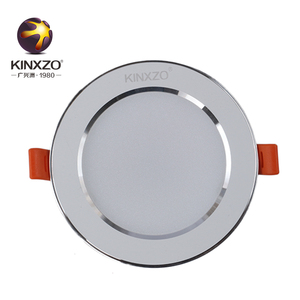 High lumen Dimmable Recessed IP44 recessed 3w Cob Ceiling led downlight