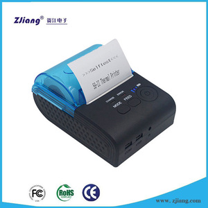 English Sample Receipt Coffee Printer Mobile Bluetooth with Bill Printer price ZJ-5805