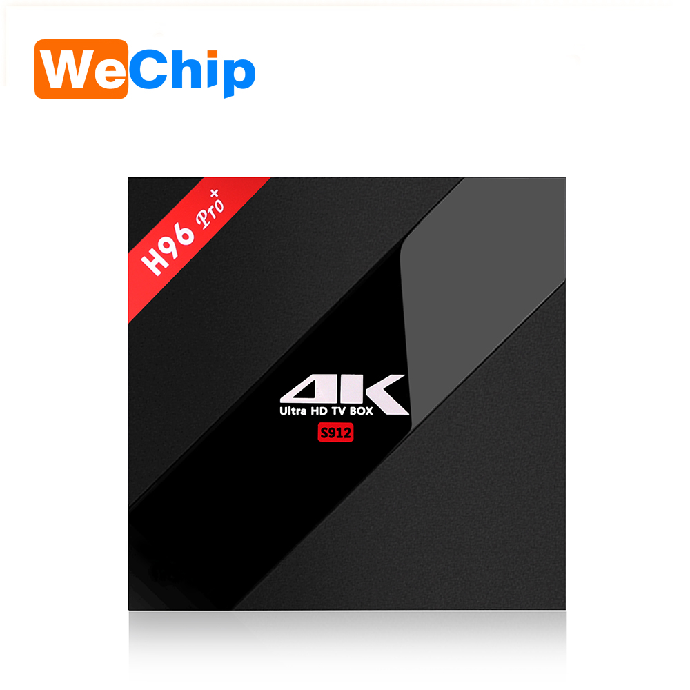 Latest Amlogic S912 android 6.0 tv box Octa Core RAM 2GB ROM 16GB 4K Bluetooth4.0 Kodi tv box H96 PRO plus amlogic s912 tv box