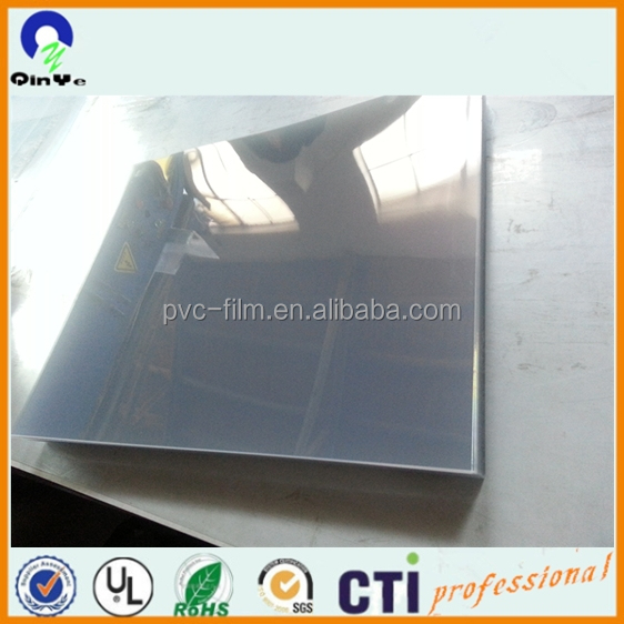 0.5mm advertising printing clear pvc flexible plastic sheet