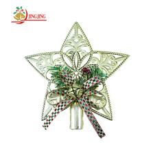 Manufacturer Sale Beautiful Xmas Tree Ornament Decorative Christmas Tree Topper