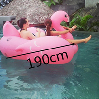 Hot sale custom PVC inflatable water floating swimming bed
