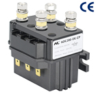 AD200 12V 24V for Car Battery Usage Two Sets Contact Switch Solenoid DC Contactor