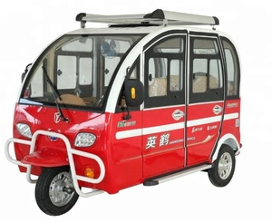 YH-XK Cheap 4 seat closed electric tricycle car for passanger