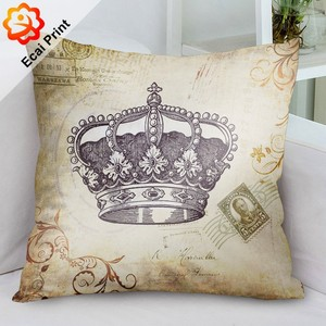 FREE SAMPLE Custom made sublimation digital printed decorative throw pillow covers