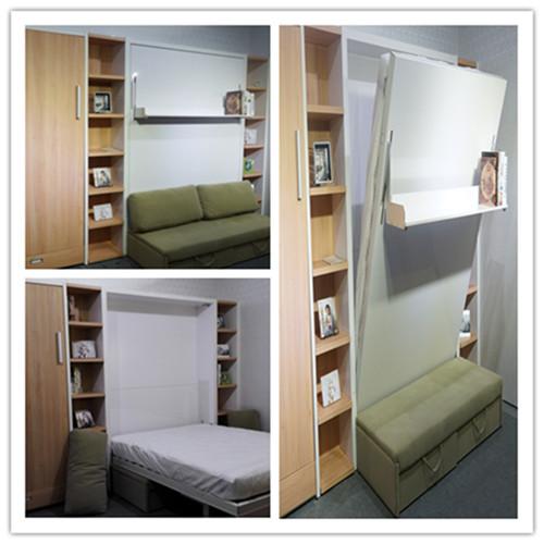 platzsparende m bel faltwand bett modernen wandelbare. Black Bedroom Furniture Sets. Home Design Ideas