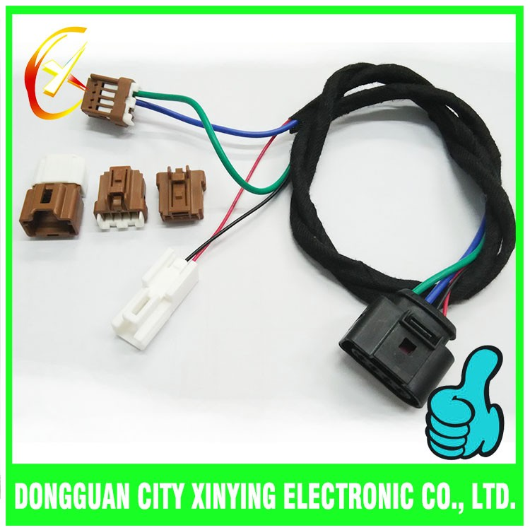 custom sumitomo 4 way auto male connectors cable assembly