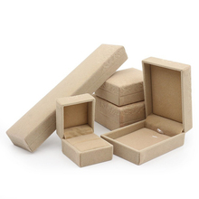 Wholesale high quality multi-size pvc jewellery boxes wholesale simple Necklace set jewel box