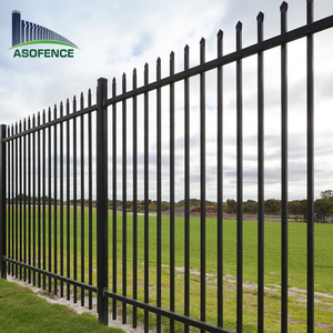 6 m security Fence Panel with Posts 1.2 m High