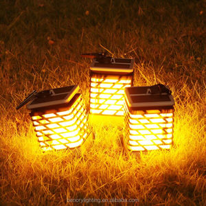 outdoor landscape lights solor power garden light for yard decoration