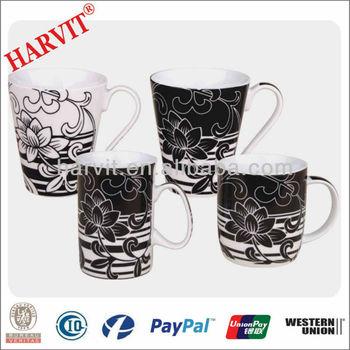 A personalized mug decals for ceramics high temperature fired custom printed coffee mugs