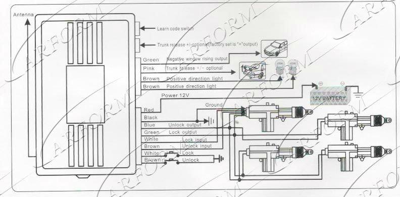 High Quality 12v Dc Motor Car Door Lock Central Locking