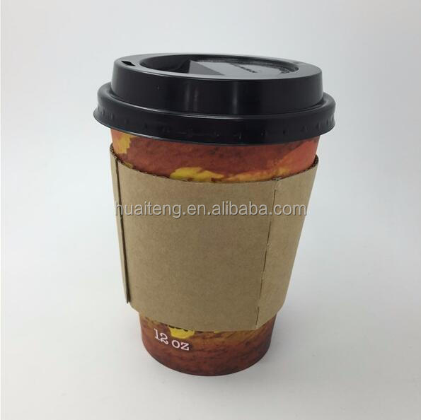 Hot sale disposable paper coffee cup / lid and sleeve