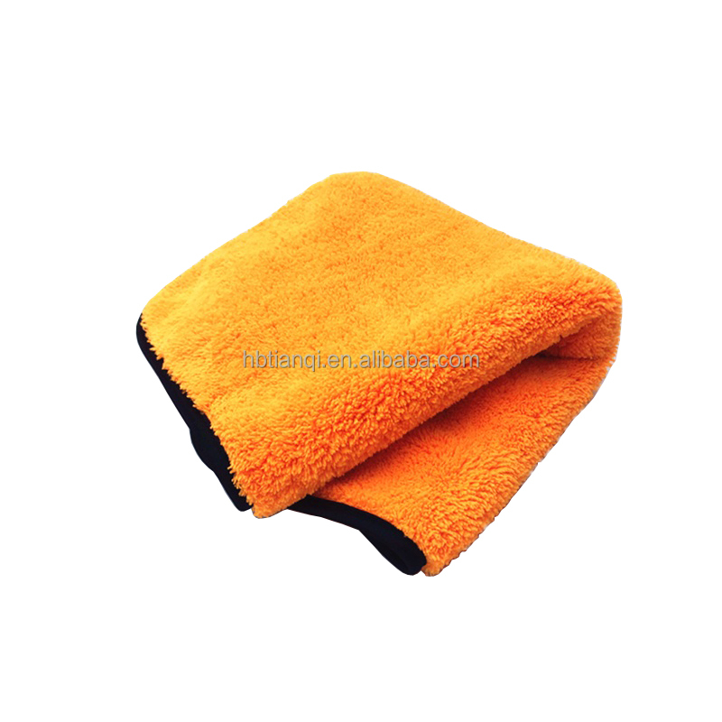 quick dry custom microfiber towel car cleaning / quick dry micro fiber cloth for car wash / suede car wash