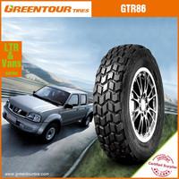 China supplier good price 4x4 light truck tires for desert road