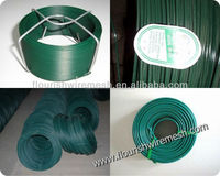 Various colors high tensile 12 gauge pvc coated gi wire