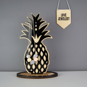 Counter Top Home Decor Pineapple Ring Dish Pineapple Jewellery Stand