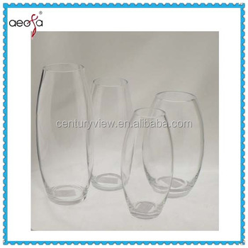 Wholesale Flower Arrangements Tall Round Clear Glass Vase Buy