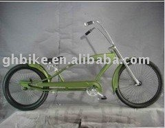 26'' favoureable beach cruiser bike with basket passed CE and ISO 9001