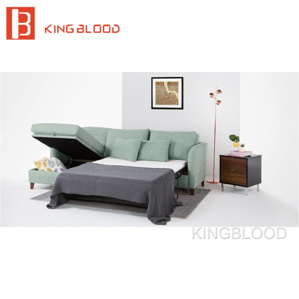 German Living Room Space Saving Furniture Pull Out L Shape Corner ...