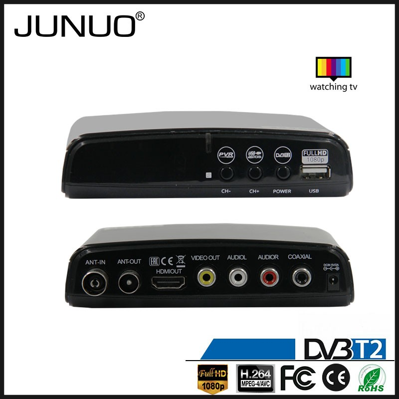 Free to air FTA dvb-t mpeg4 tuner external tv tuner box wifi dvb t2 digital tv receiver albania