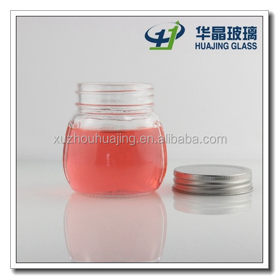 High quality 350ml 12oz food grade customize ball mason jar for snack with tin lid wholesale xuzhou manufactory