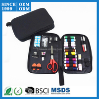 Functional Black Cloth Rectangle Sewing Kit Sewing Accessories Needle Set