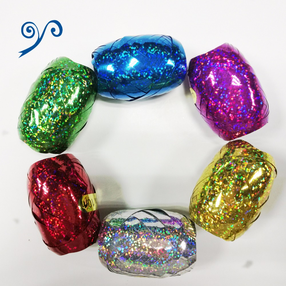 Fashional Holographic Ribbon Egg for Wrapping Gift or Present and Party Decorative